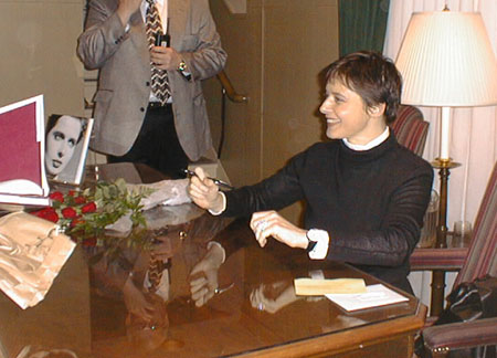 Isabella Rossellini visits the George Eastman House - November 2, 1997